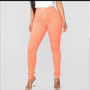 Super High Waist Denin Skinnies
